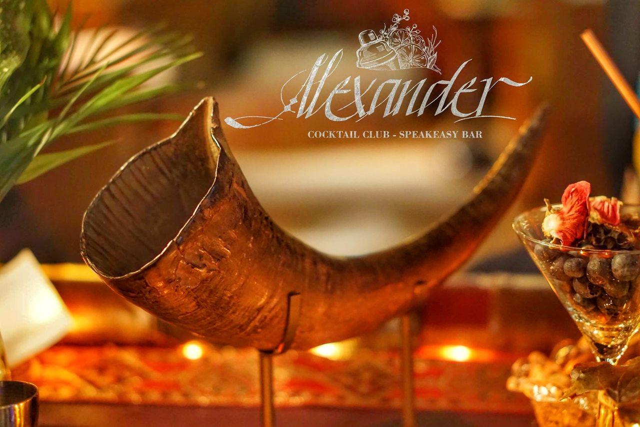 Alexander Cocktail Club & SpeakEasy Bar Since 1974