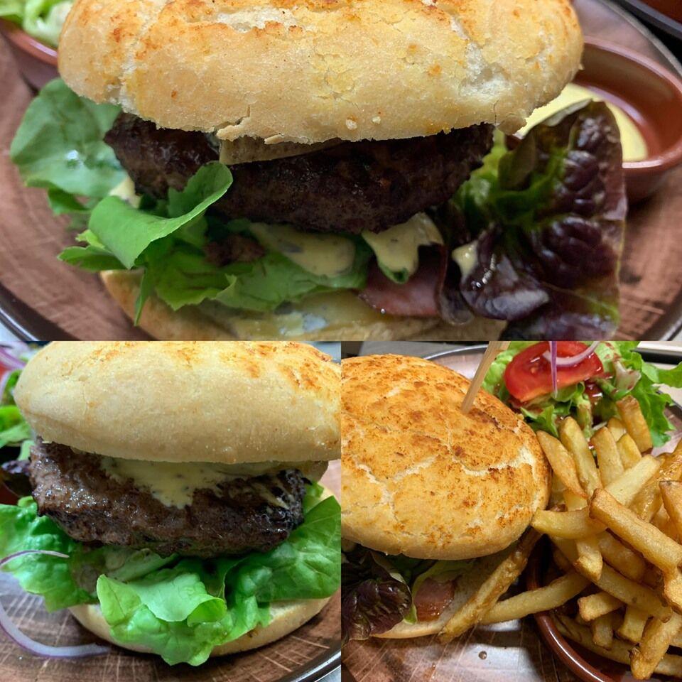 Burger comtois - Frites maison