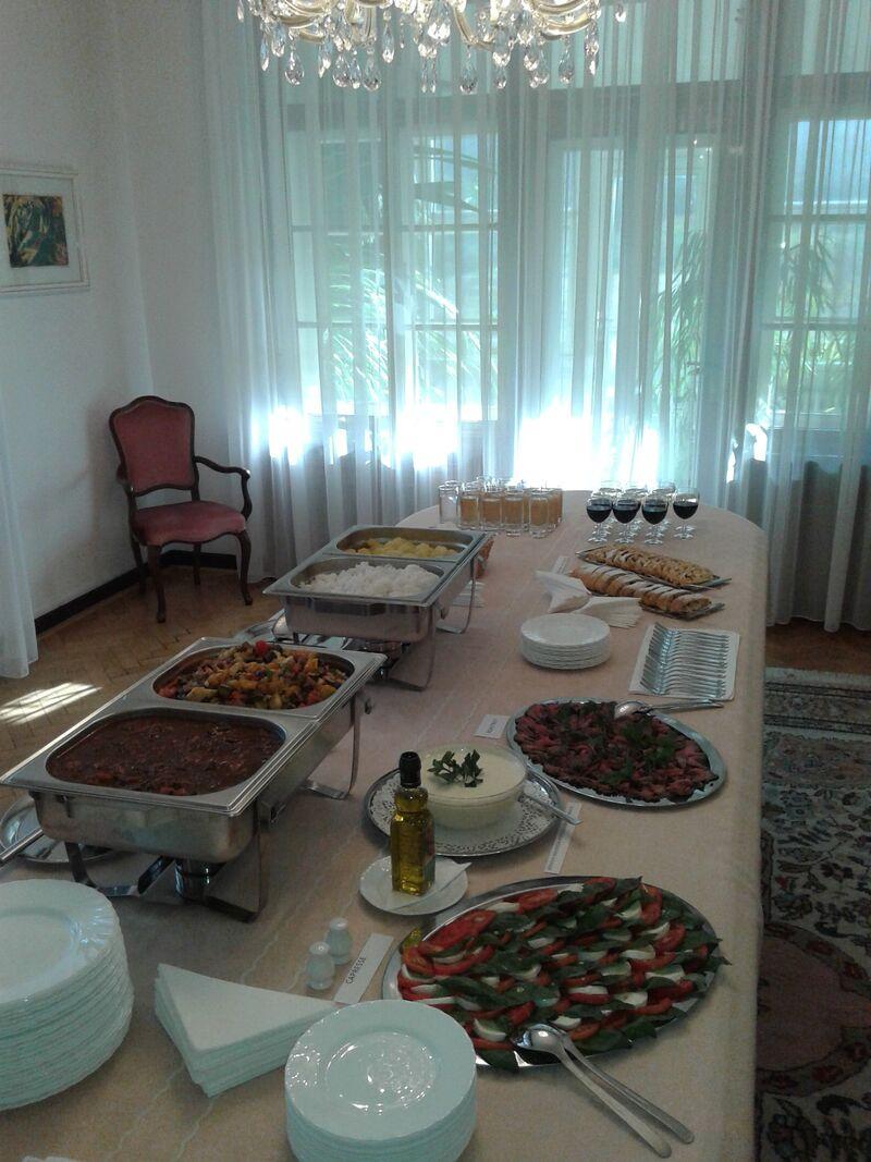 Ukázka z našich cateringových služeb.