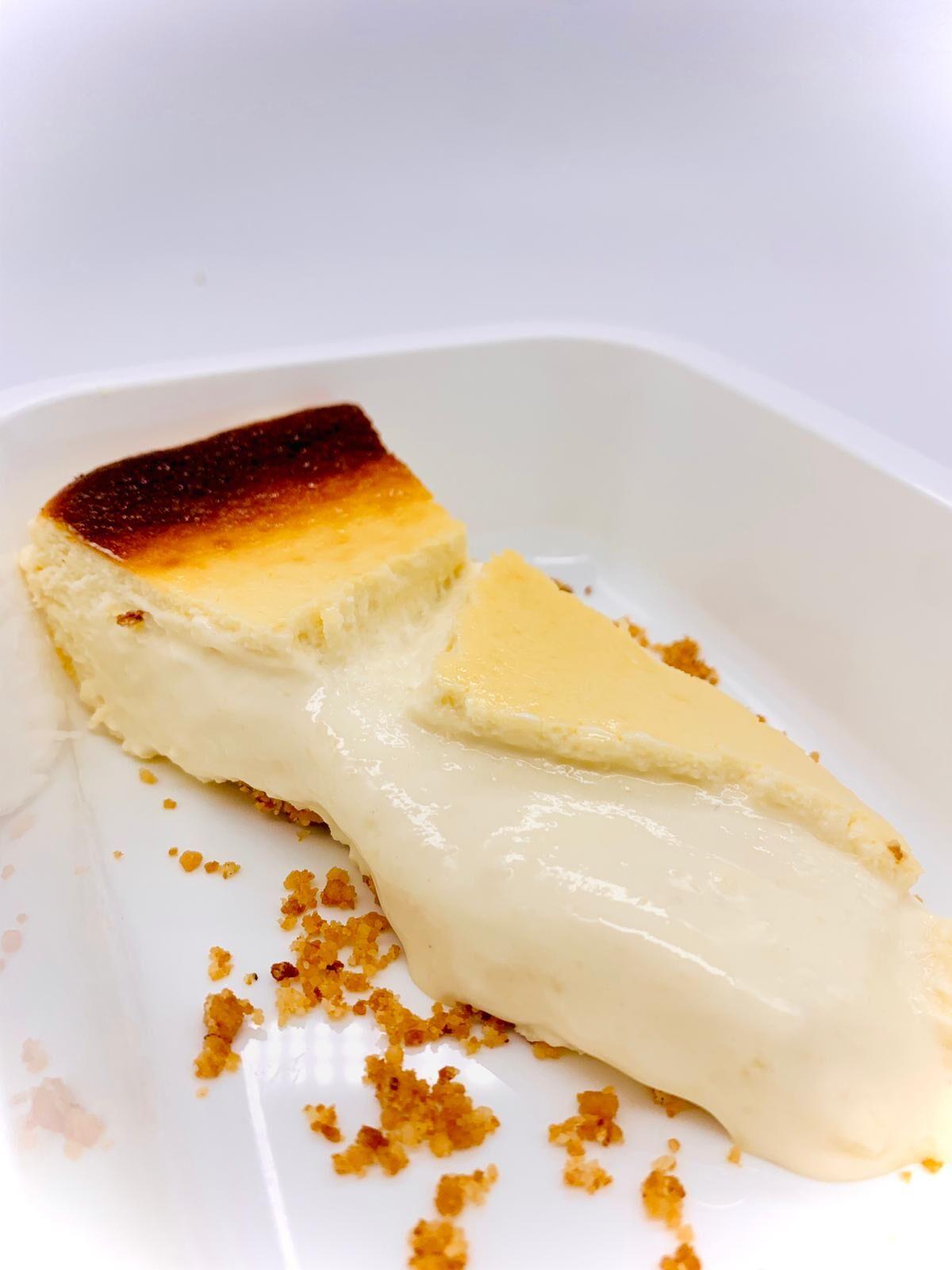 Pastel de queso súper cremoso