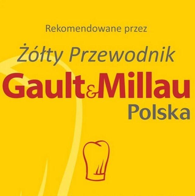 nasza restauracja została nagrodzona czapką Żółtego Przewodnika Gault&Millau Polska w roku 2018 i 2019