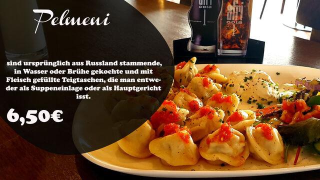 Ein Klassiker der Russischen Küche, hausgemachte Pilmeni