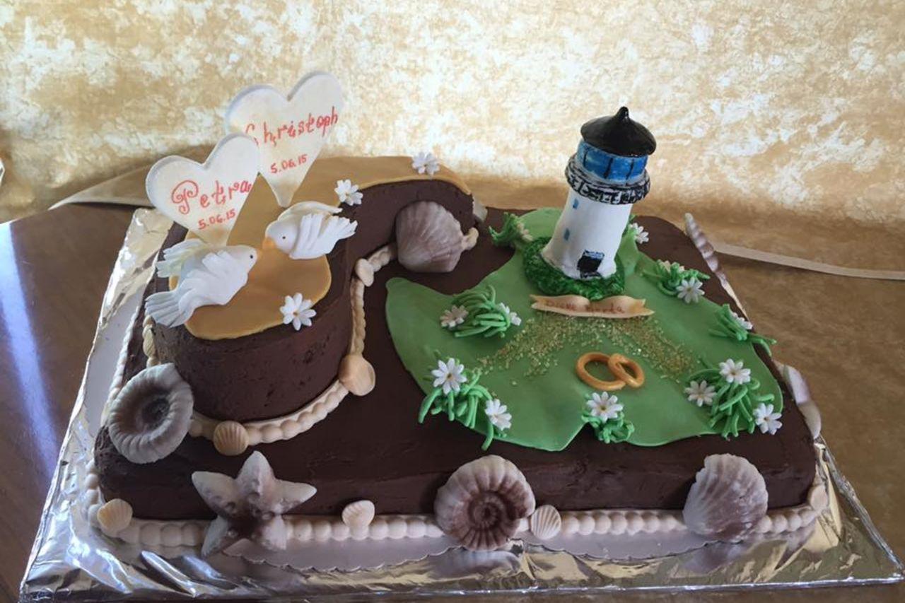 "Hochzeit Torte ""Dicke Berta"""