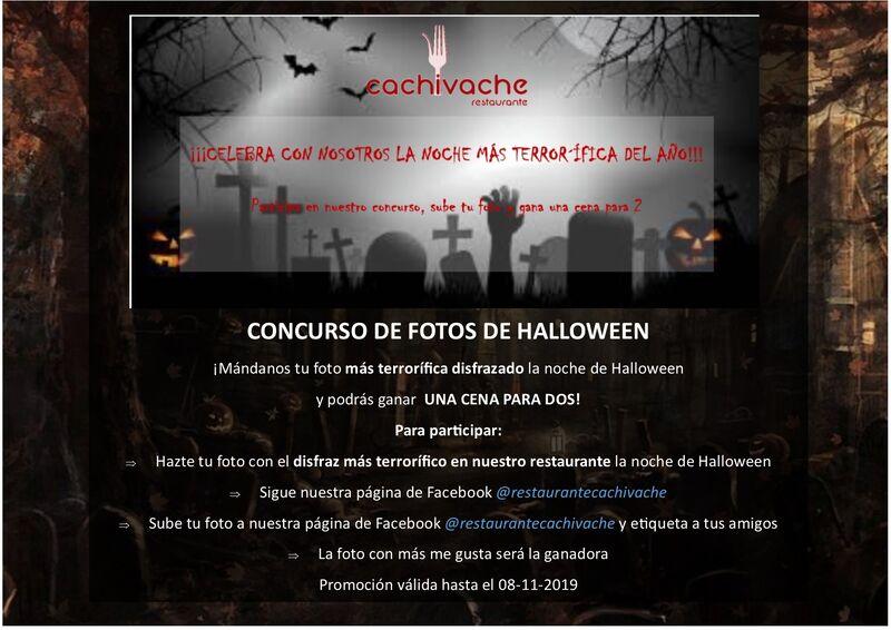 Concurso fotográfico Halloween 2019