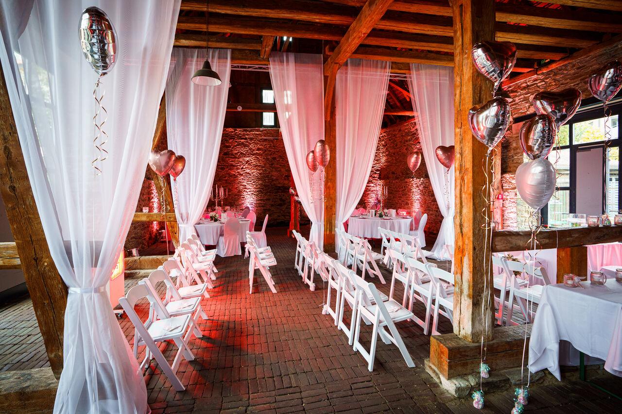 Hochzeit in der Veranstaltungsscheune