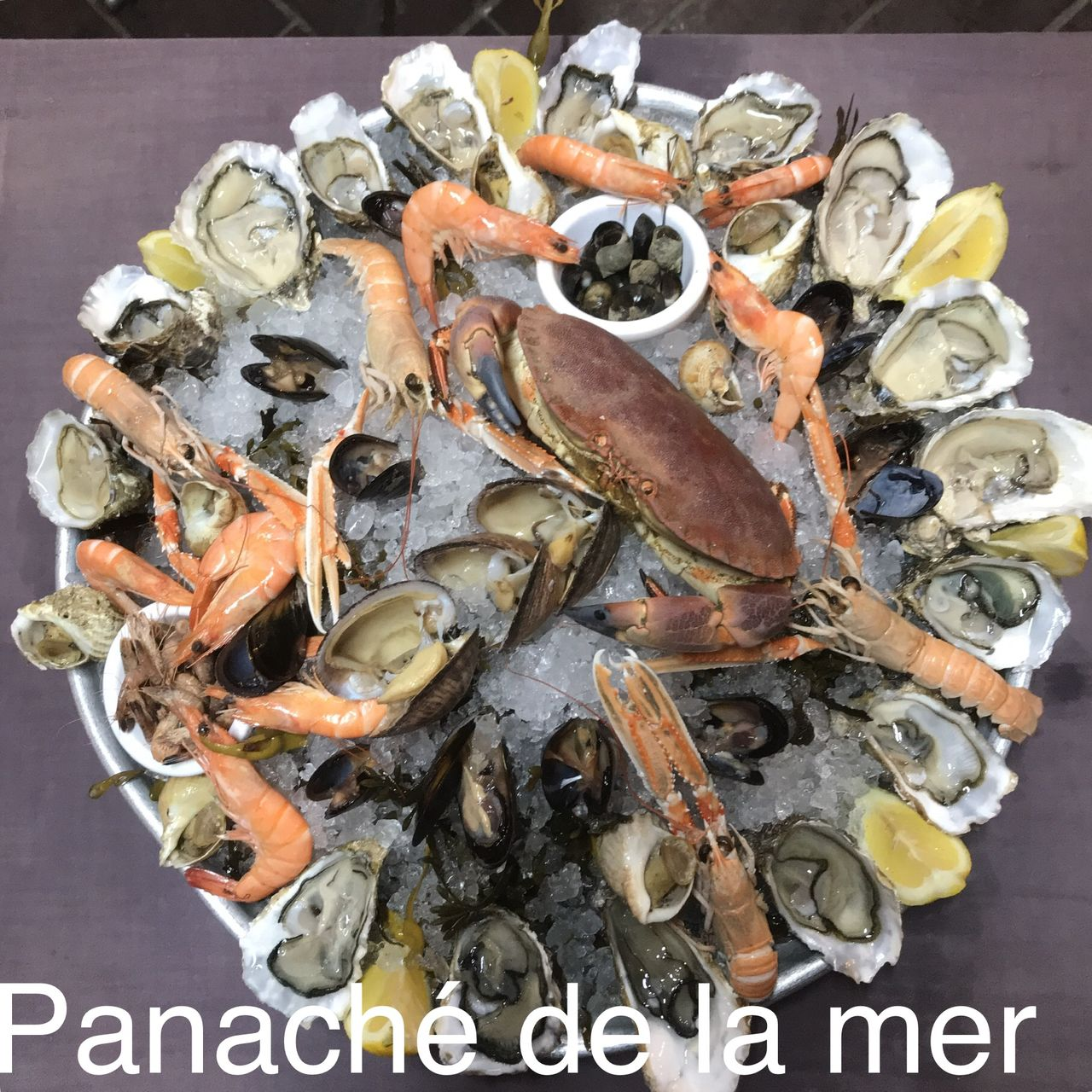 Seafood panache of the sea