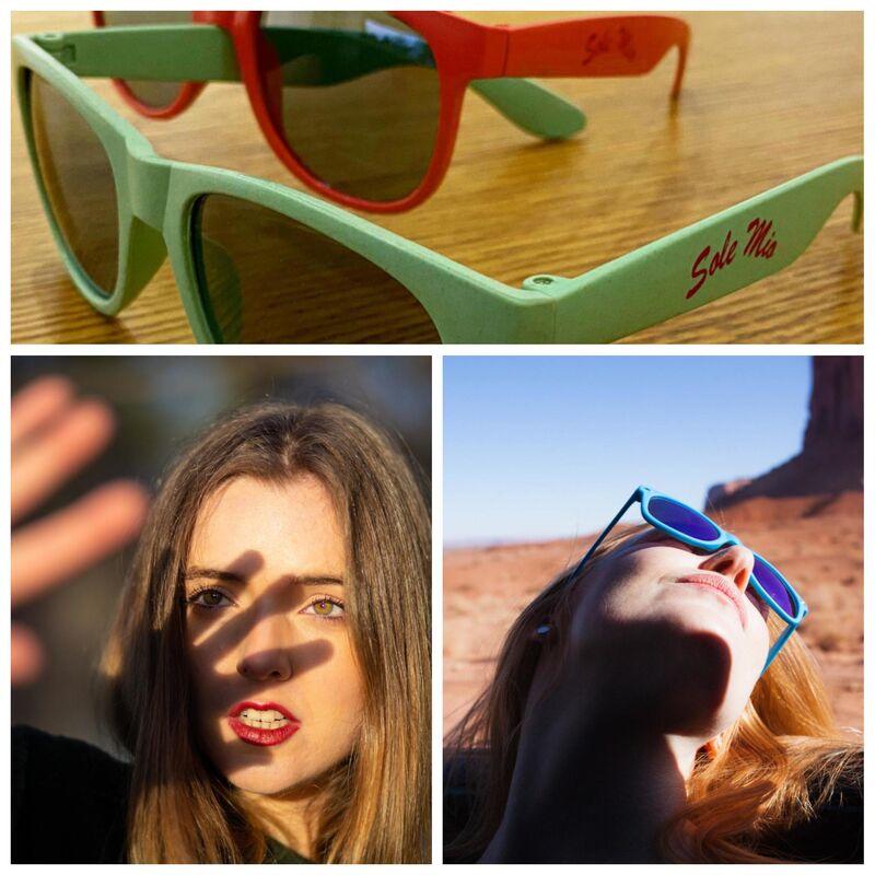 Die SONNE strahlt und Wir verschenken passend dazu, TRENDY-Sonnenbrillen:) Zu jeder Bestellung ab 15€, bekommst Du eine GRATIS!