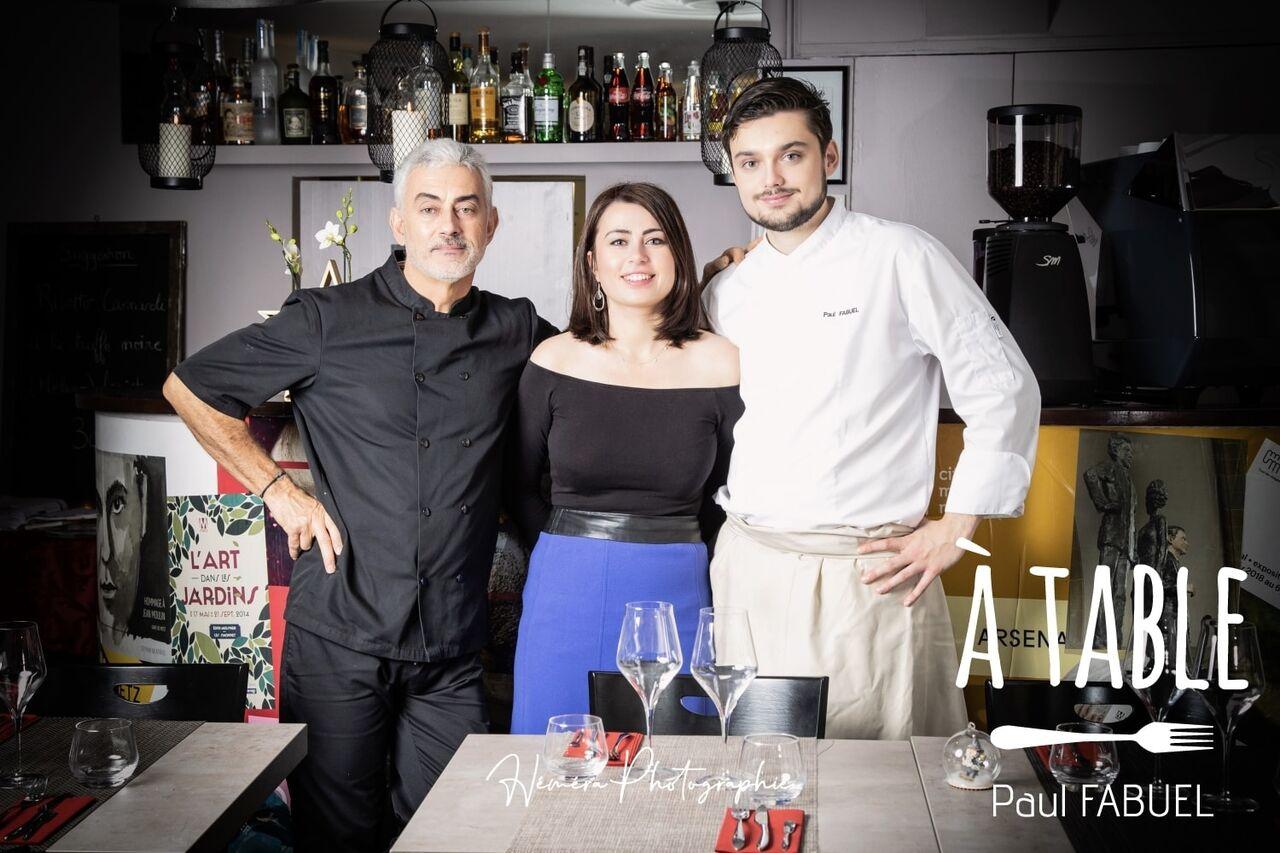 José , Elise et Paul pour vous accueillir.