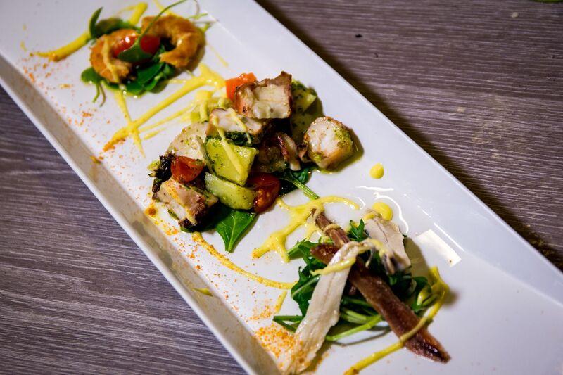 Fresh mediterranean seafood
