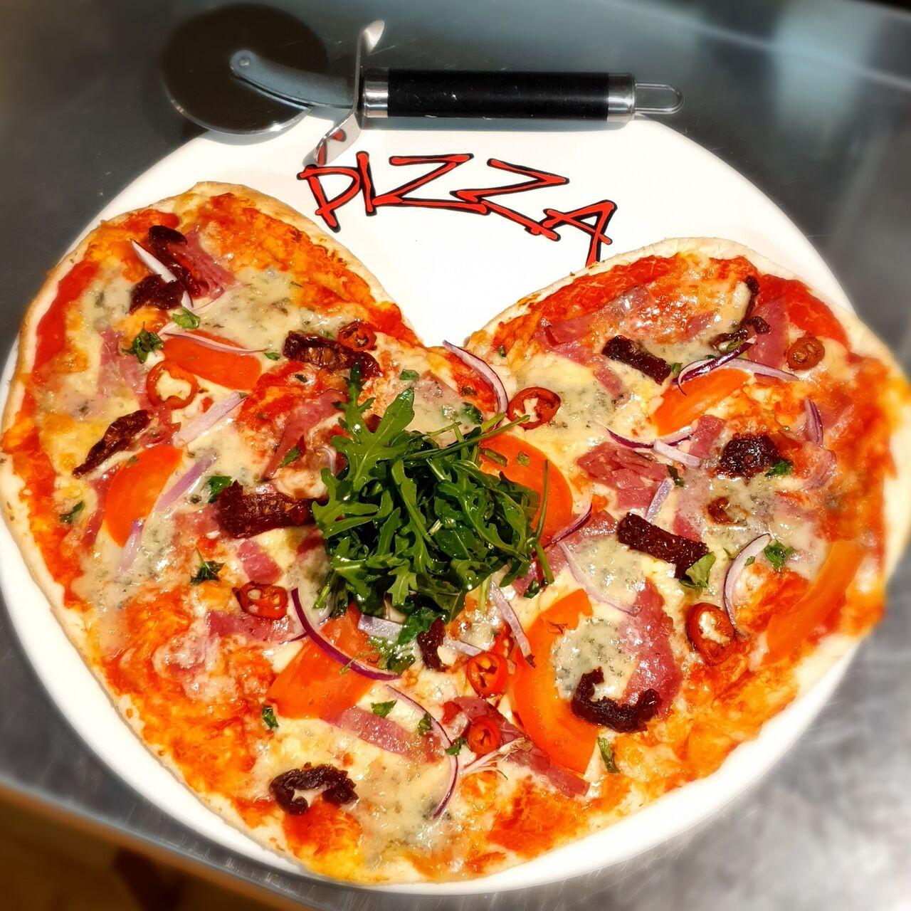 Valentijnpizza