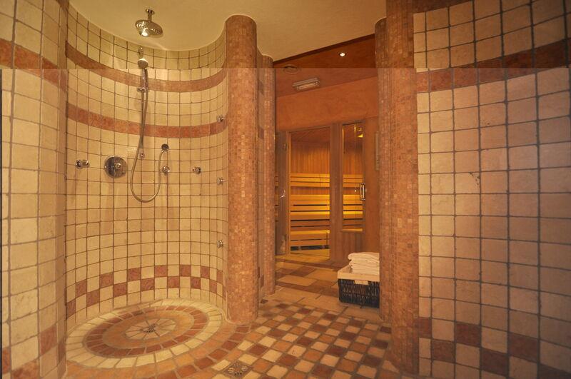 Duschen mit Duft und Schwall